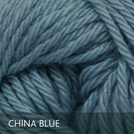 Baby alpaca China Blue