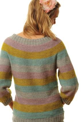 BC Stripete genser | Garnkurven.no